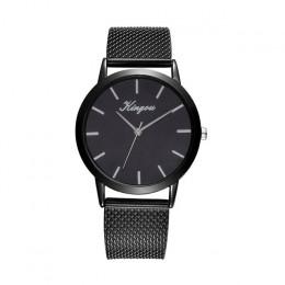 Kingou złoty nowy zegarek damski pasek ze stali nierdzewnej zegarek moda & Casual dropshipping kobiety zegarek kobieta zegar mon