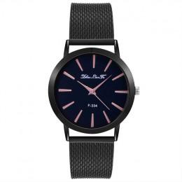 Srebrny kobiet zegar nowy mody kobiet zegarki luksusowe marki wypoczynek zegarek dla pań ze stali nierdzewnej kwarcowy zegarek n