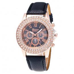 Hot moda mężczyzna kobiet zegarek luksusowy diament szkło powiększające zegarki sukienka zegarek kwarcowy mężczyzna kobieta znan