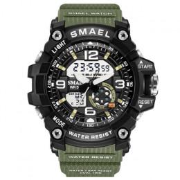 SMAEL kobieta zegarki sportowe na zewnątrz LED zegarki zegary cyfrowe kobieta armia zegarki wojskowe duże pokrętło 1808 kobiet z