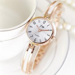 2019 nowy JW luksusowe marki zegarek kwarcowy kobiety zegarki bransoletka z diamentami panie sukienka złota zegarek godziny kobi