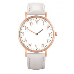 Prosty zegarek kwarcowy kobiet zegarek na rękę kobiety luksusowe cyfry arabskie wybierania możliwości panie zegarki Relogio Femi