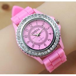 Luksusowa marka skórzany zegarek kwarcowy kobiety panie mężczyźni moda zegarek na bransolecie rękę zegar na rękę Relogio Feminin