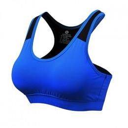 2019 nowe centrum biustonosz do jogi kobiet szybko suche oddychające Yoga tank Top Gym Running usztywniany biustonosz bez szwu n