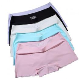 ERAEYE 4 części/partia bezpieczeństwa kobiet krótkie spodnie damskie majtki figi bielizna fioletowy kobieta komfort majtki kobie