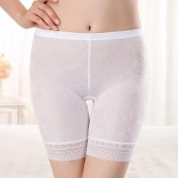 Szorty ochronne spodnie koronki bez szwu miękki i wygodny materiał bawełniany bokserki bezpieczeństwa spodnie dla kobiet Panties