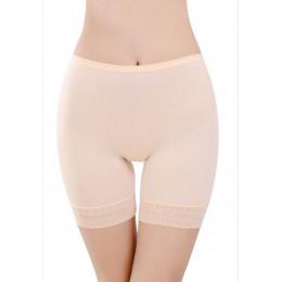 Miękki i wygodny materiał bawełniany bokserki spodenki spodnie bezpieczeństwa dla kobiety majtki plus duży rozmiar bielizna dams