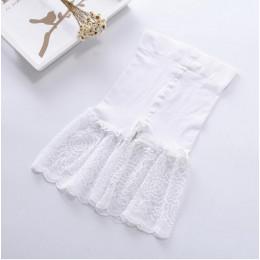 Wysoka talia bezpieczeństwa krótkie spodnie oddychające szczupła bielizna majtki seksowne spodenki koronkowe pod spódnica na co