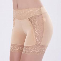 Kobieta lato modalne szorty spodnie duży rozmiar krótkie spodenki w pasie kobiety panie koronki uda spodenki oddychające 7ZAA970