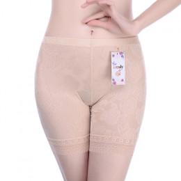 Koronkowe krótkie majtki kobiety pod spódnice szorty bielizna-majtki bez szwu duży rozmiar kobiet na co dzień bokserki bokserki