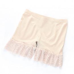 2019 wiosna i lato nowe koronki bezpieczeństwa krótkie spodnie duży rozmiar 4 kolory pod spódnice bez szwu modalne koronki bieli