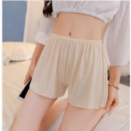 Elegancja satyna bezpieczeństwa krótkie spodnie damskie krótkie rajstopy miękka bezszwowa koronkowa bielizna kobiet bezpieczne s