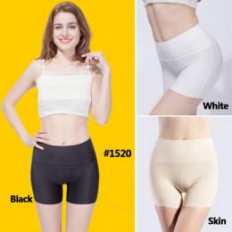 WLSD 3 sztuk/partia kobiet wysokiej talii krótkie spodnie odchudzanie majtki bezszwowe szorty jedwabiu pani szorty Nylon kobiety