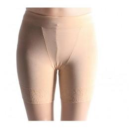 Oddychające włókna bambusowe szorty ochronne spodnie kobiety Plus rozmiar elastyczne spodenki stałe lato koronki Skinny szorty b
