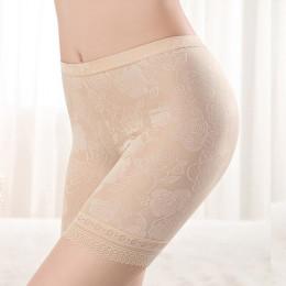 NW50 Plus rozmiar XL-4XL szorty koronkowe krótkie spodnie letnie komfortowe i bezpieczne bielizna bokserki lenceria femenina