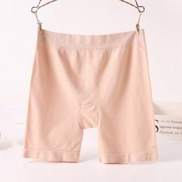 Jerrinut bezpieczeństwa krótkie spodnie w połowie talii majtki dla kobiet spódnice spodenki czarna skóra krótkie rajstopy kobiet