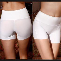 Krótkie spodnie wysoka talia bielizna szorty modelujące wyszczuplające
