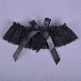 1pc kobiety dziewczyna seksowna koronki kwiatowy Bowknot Wedding Party dla nowożeńców bielizna pas do pończoch podwiązki pas