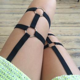 Elastyczne podwiązki | całego ciała kobiety uprząż | erotyczna akcesoria