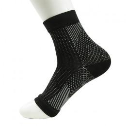 Dropship komfort stóp Anti zmęczenie kobiety skarpety kompresyjne z długim rękawem elastyczny skarpety męskie kobiety ulgę Swell