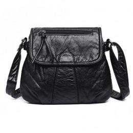 REPRCLA marka projektant kobiet Messenger torby Crossbody miękka torba na ramię ze skóry PU wysokiej jakości moda kobiet torby t