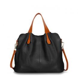 Moda prawdziwej skóry torba kobieca torebka damska na ramię pani torba na ramię luksusowe projektant crossbody torby dla kobiet