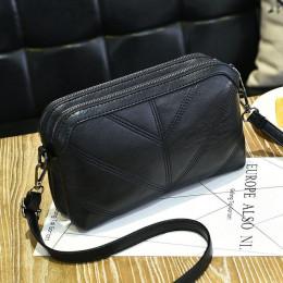 SMOOZA 2019 wysokiej jakości kobiety torebka luksusowa torba miękkie pu skóry na ramię moda damska Crossbody torby kobieta Bolsa