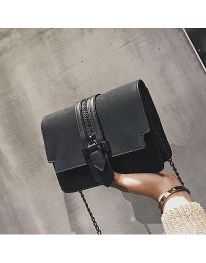 REPRCLA moda matowy PU skóra kobiet torby wysokiej jakości torebki projektant torba na ramię małe łańcuch Crossbody Messenger to