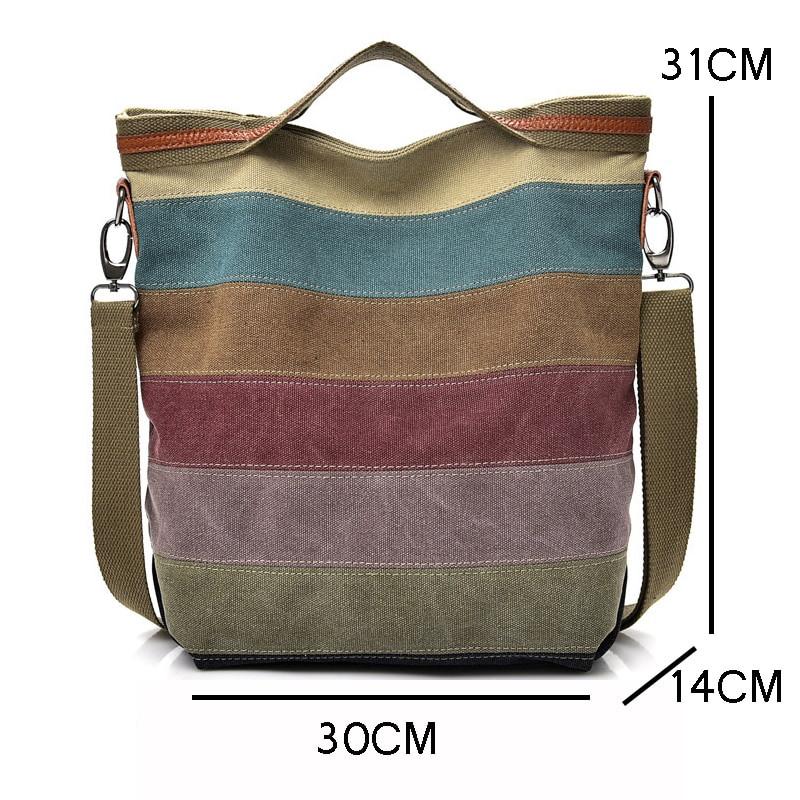 EXCELSIOR damska torba na ramię płótno Crossbody torby