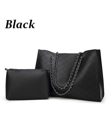 ZMQN skórzane torby dla kobiet 2019 luksusowe torebki damskie torby projektant duża torebka torebka łańcuch skórzana zestaw tore