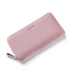 WEICHEN nadgarstek kobiety długi portfel duża pojemność portfele torebka damska Lady torebki etui na telefon posiadacz karty Car