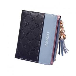 2019 nowych kobiet słodkie modna torebka skóra długo portfel na zamek posiadacz karty monety z miękkiej skóry telefon karty kobi