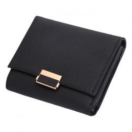 2018 luksusowe portfel kobiet skórzane damska skórzana torebka portfel w kratkę panie gorąca zmień posiadacz karty monety małe t