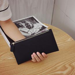 AUTEUIL PARIS damska torebka damski portfel długi Worki na pieniądze prosty styl portmonetka skórzane cienkie portfele kobiet po