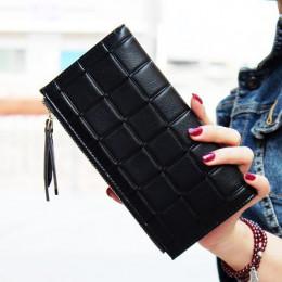 2019 nowych moda długi Pu kobiet portfel sprzęgła kobiet kiesy najlepszy telefon portfel kobiet przypadku etui na telefon Cartei