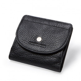 Prawdziwej skóry kobiet portfel moda portmonetka dla dziewczyn kobiet mały Portomonee Lady Perse worek pieniędzy posiadacza kart