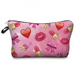 Jom Tokoy moda marka kosmetyczne organizator torba do przenoszenia ciepła drukowania kobiet podróży makijaż torba przenośna kosm