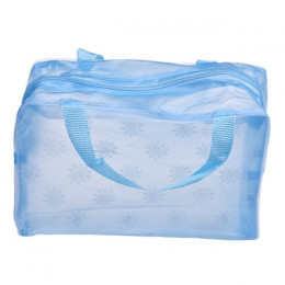 ETya 5 kolory makijaż organizator torba kosmetyczka worek do przechowywania kobiet wodoodporny przezroczysty kwiatowy torba podr