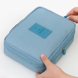 Nie przegap Drop ship wysokiej jakości makijaż torba kobiety wodoodporna kosmetyczne makijaż torba organizator podróży na przybo