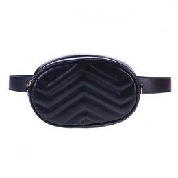 Saszetka na pasek torba na biodro okrągły Fanny Pack kobiety luksusowej marki skórzana torebka czerwony czarny beżowy 2019 lato