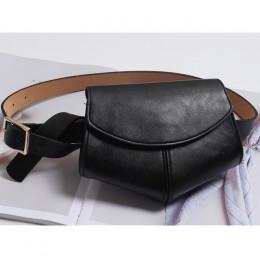Serpentyn Fanny Pack panie PU skóra talii saszetka na pasek kobiety Mini Disco talii opakowanie luksusowe torebki torba kobieca