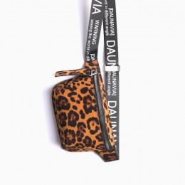 DAUNAVIA Serpentin talii torba pani projektant mody pas pakiet w klatce piersiowej Mini przekątnej torba damska luksusowy pasek