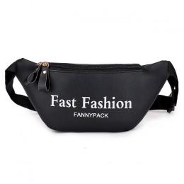 AIREEBAY 2019 moda kobiety Fanny Pack czarny kobiet talii torby PU skóra różowy małe saszetka na pasek dla pani telefon podróży
