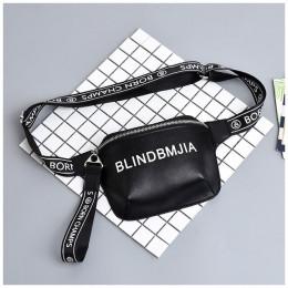 Moda PU skóra talii torba kobiety list Fanny pack saszetka na pasek kobiet w klatce piersiowej torebka Drop Ship ponad milion os