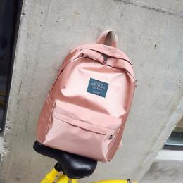 Moda na co dzień kobiety plecak miękkie tkaniny plecaki dziewczyny torby szkolne plecak podróżny z nylonu kobiet plecak Mochila