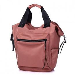 2019 Nylon plecak kobiety plecaki do użytku codziennego panie o dużej pojemności z powrotem do torba szkolna nastoletnich dziewc