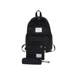 Nylon plecak kobiet plecak stałe kolor torba podróżna bardzo duże torby na ramię dla nastoletnich dziewczyna Student torba szkol
