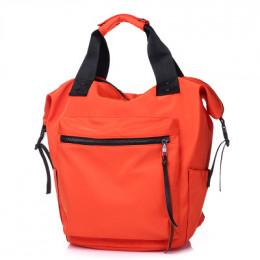 Na co dzień Nylon wodoodporny plecak kobiet o dużej pojemności podróży książki torby dla nastoletnich dziewcząt studenci różowy