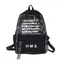 Harajuku jasne na płótnie list kobiet torby plecaki szkolne dla nastoletnich dziewcząt kobiet wysokiej jakości podróży plecak Bo
