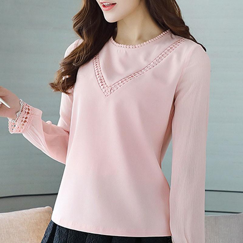 Modna bluzka damska szyfonowa koszula harajuku elegancka  LLiNM